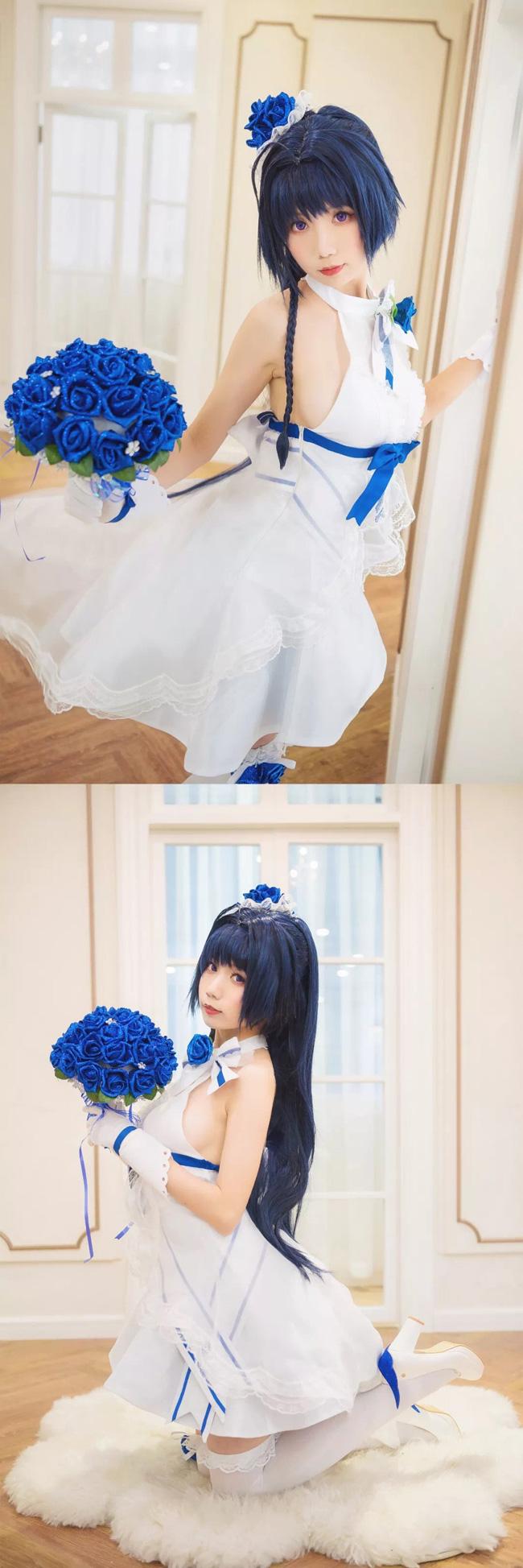 【崩坏3】Cosplay 纯净花嫁芽衣!