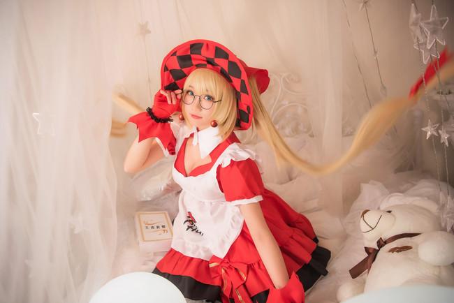 《王者荣耀》Cosplay魔法小厨娘 安琪拉!