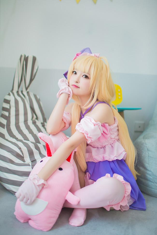 《偶像大师 灰姑娘女孩》 Cosplay 双叶杏太可爱了!