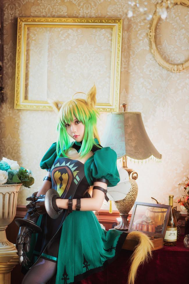 《Fate/Grand Order》Cosplay 阿塔兰忒 塔喵!射爆!