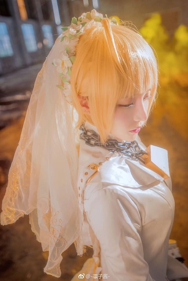 《Fate/Grand Order》Cosplay 尼禄花嫁!