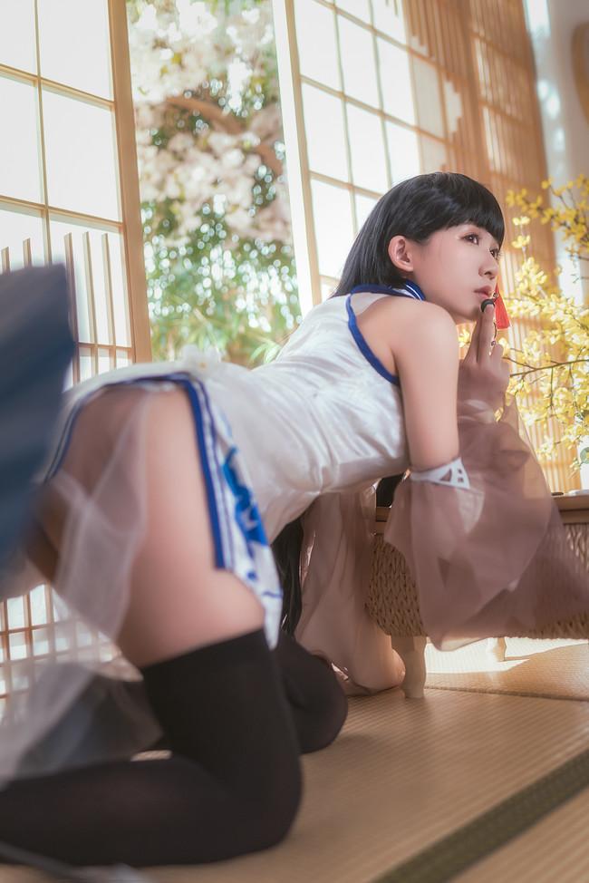 《碧蓝航线》Cosplay战舰少女R 逸仙旗袍!