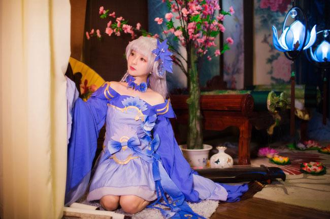 【剑网三】Cosplay 外观套装兰庭轻罗!