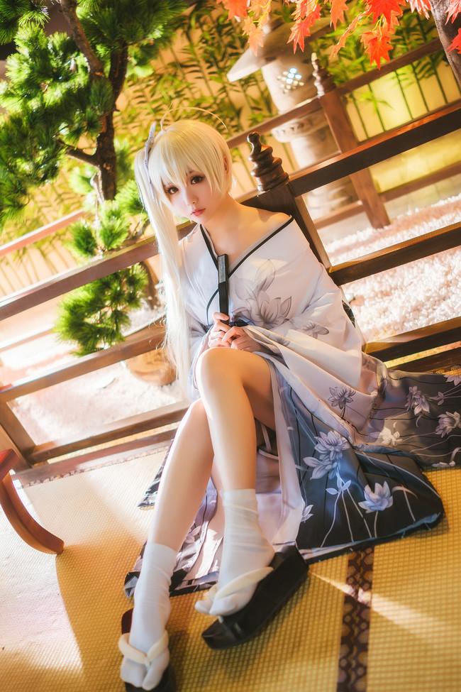 《缘之空》Cosplay春日野穹 和服!