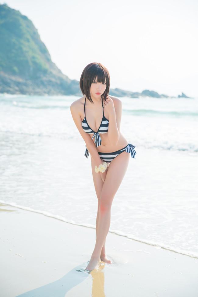 《路人女主的养成方法》Cosplay加藤惠 泳装!