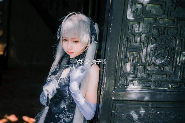 《缘之空》Cosplay春日野穹 黑丝旗袍!