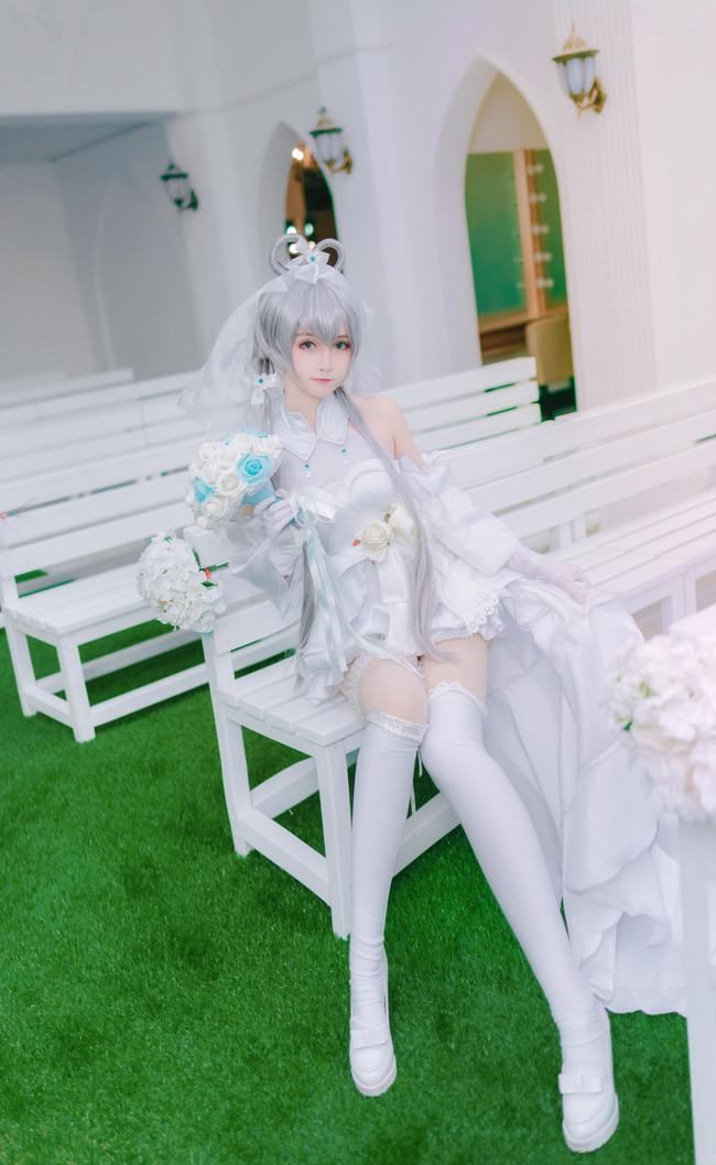 【VOCALOID】Cosplay 随心所欲花嫁洛天依!