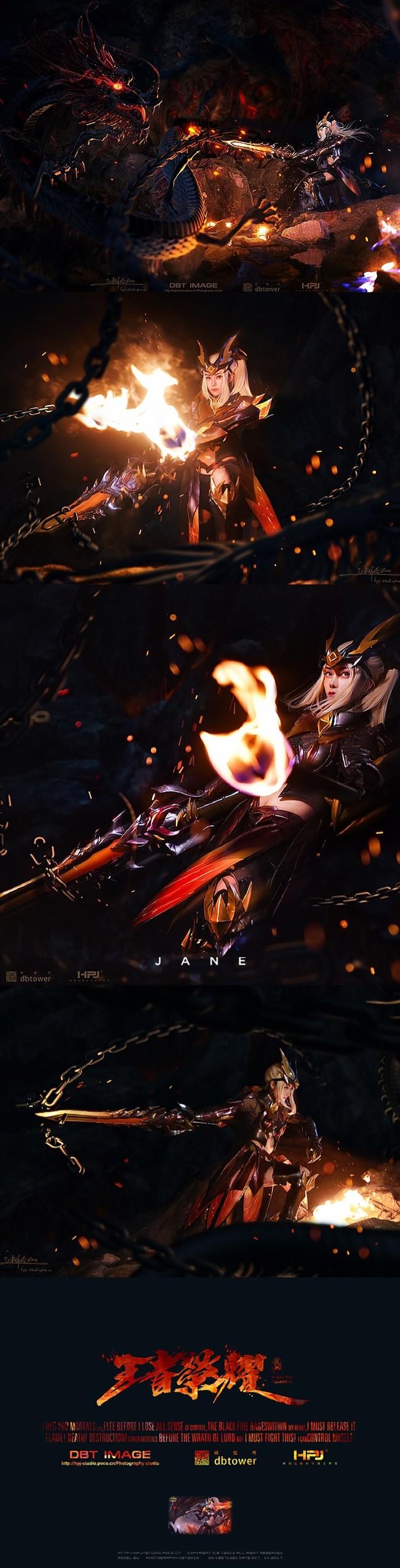 《王者荣耀》Cosplay花木兰 水晶猎龙者!