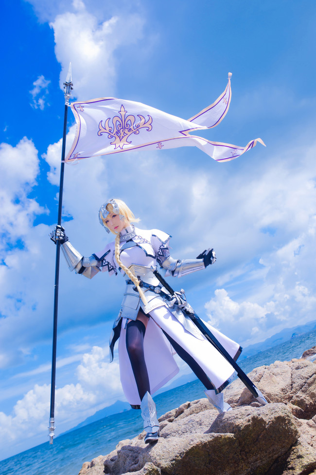 《Fate》Cosplay贞德!