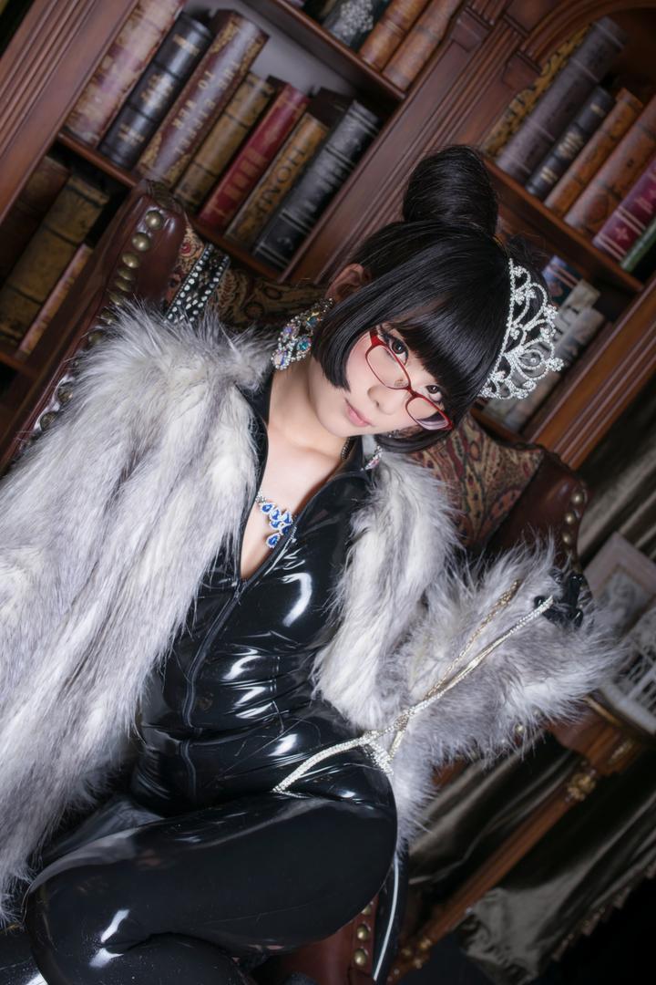 Eri Kitami北見えり(北见绘里)乳胶衣Cosplay猫女郎「二」