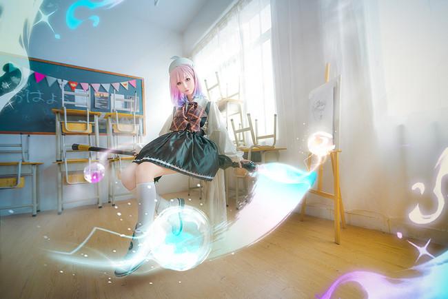 《永远的7日之都》Cosplay 拿起畫筆-幻彩璃璃子!